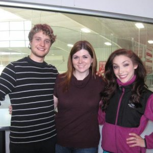 One of the best days of my life!  This is the first day I met 2 of my idols, Meryl Davis & Charlie White.  Later on I would get to know them bette
