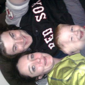 Me, My son Peter Michael & My husband Magnus